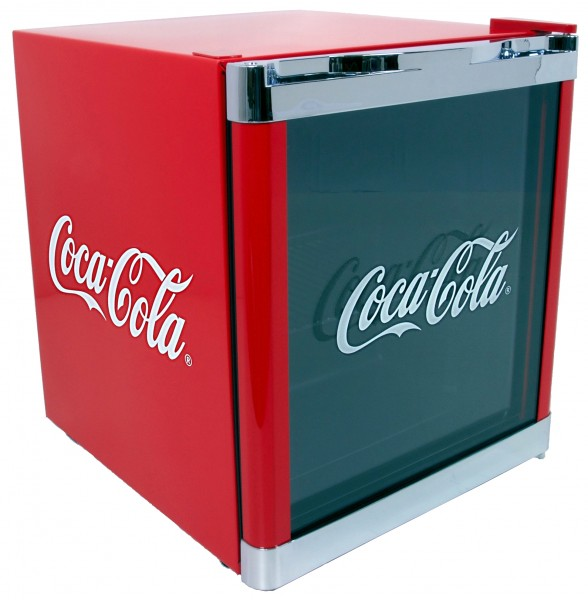 HUSKY CoolCube Coca-Cola Mini-Kühlschrank