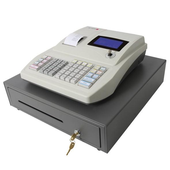 OLYMPIA CM 912 hellgrau Registrier-Kasse