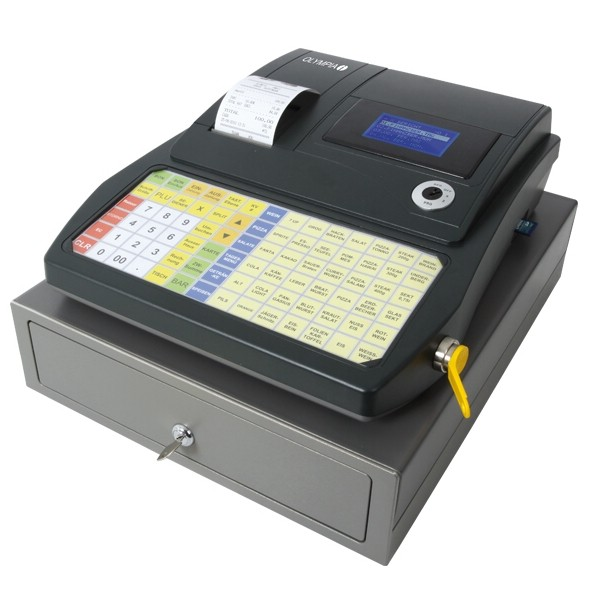 OLYMPIA CM 941F anthrazit Registrier-Kasse [refurbished]