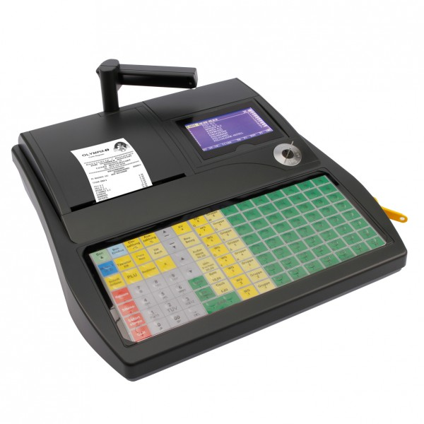 OLYMPIA CM 980F anthrazit Registrier-Kasse [refurbished]